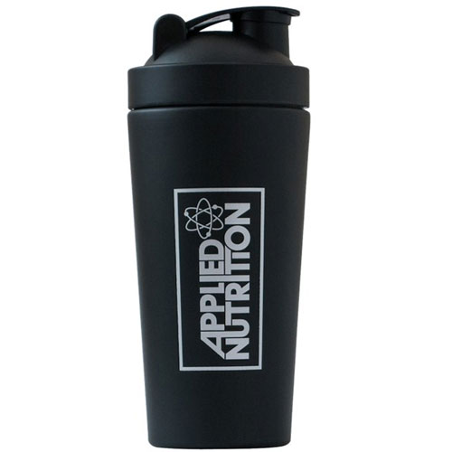 Applied Nutrition Metal Shaker - Black