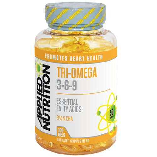 Applied Nutrition Tri-Omega 3-6-9 - 100 Softgels
