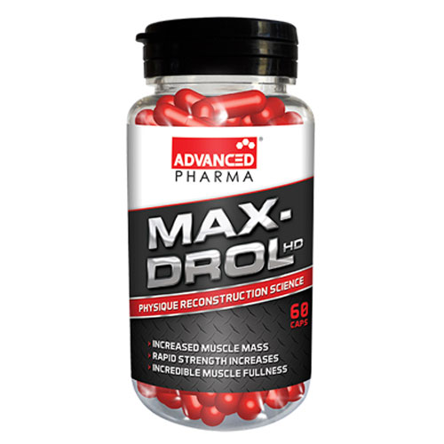 Advanced Pharma Max-Drol - 60 Caps
