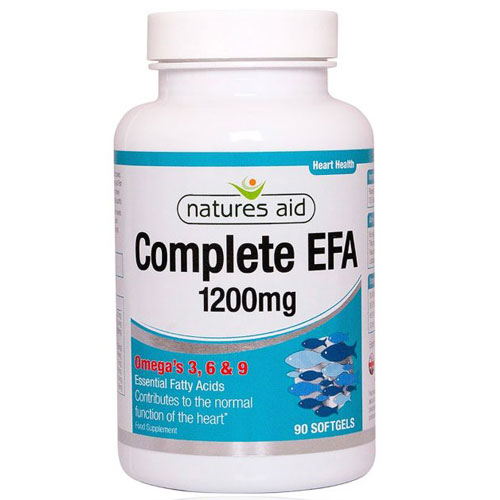 Natures Aid Complete EFA 1200mg - 90 Softgels