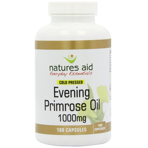 Natures Aid Evening Primrose Oil 1000mg - 180 Softgels