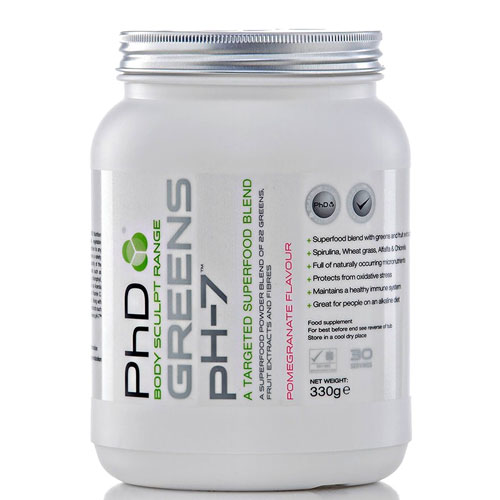PhD Greens pH-7 - 330g