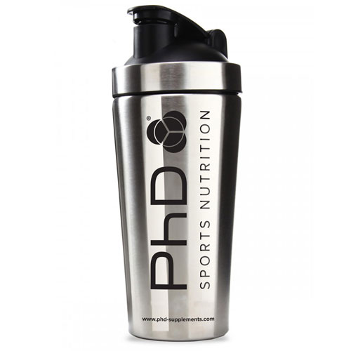 PhD Metal Shaker - Stainless Steel Silver