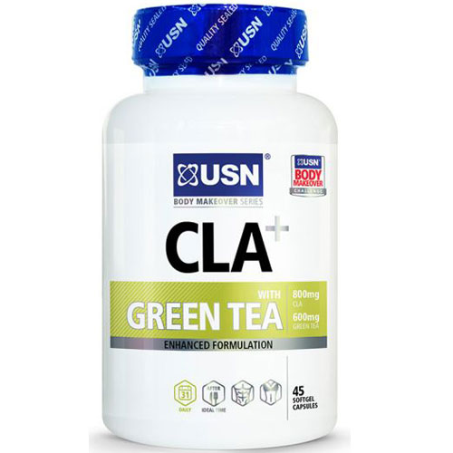 USN CLA+ Green Tea - 90 Softgel Caps